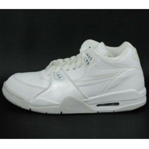 Nike Air Flight '89 GS Boys Shoes White